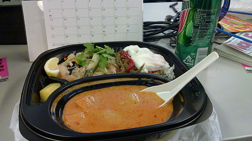 Thai Truck Lunch