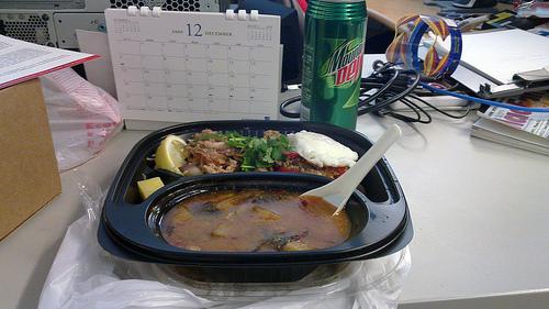 Thai Truck Lunch